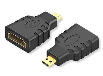 HD26 ADAPTER HDMI FEMALE NA MICRO HDMI MALE GOLD