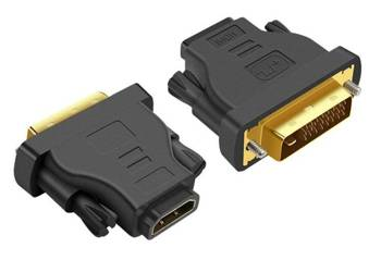 HD6 ADAPTER GNIAZDO HDMI-WTYK DVI GOLD