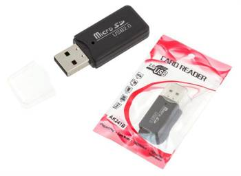 AK241B PENDRIVE ADAPTER CZYTNIK KART MICRO SD/TF